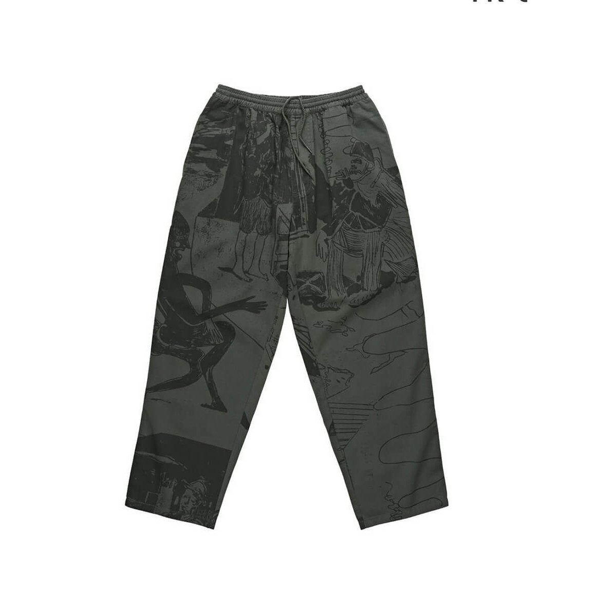 TK Surf Pants (Gray Green)