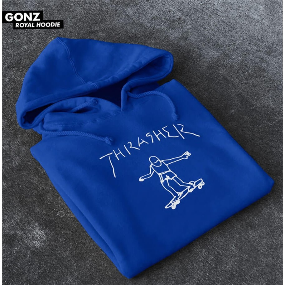 Gonz Hood (Royal Blue)