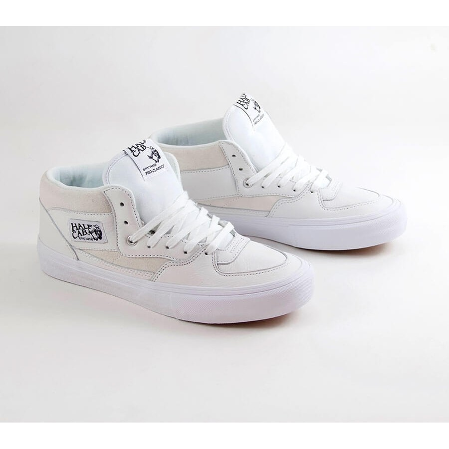 Half Cab Pro (Leather White)