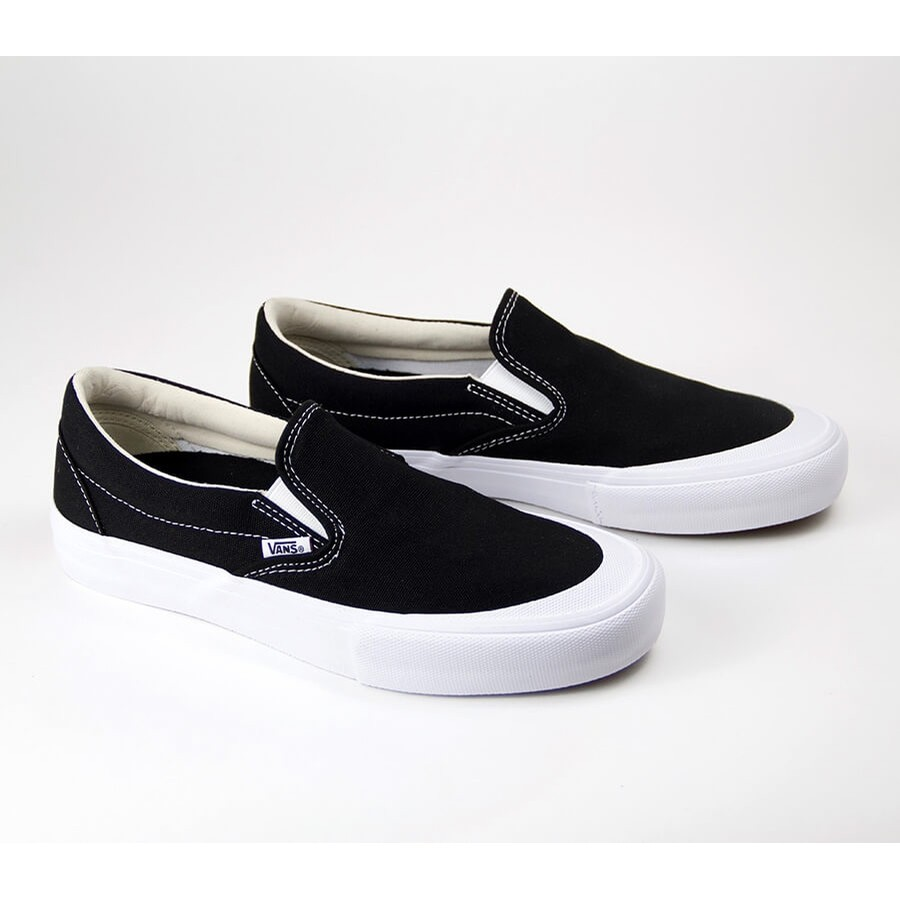 a9ae7cfdac Vans Slip-On Pro Toe Cap (Black) Shoes at Embassy