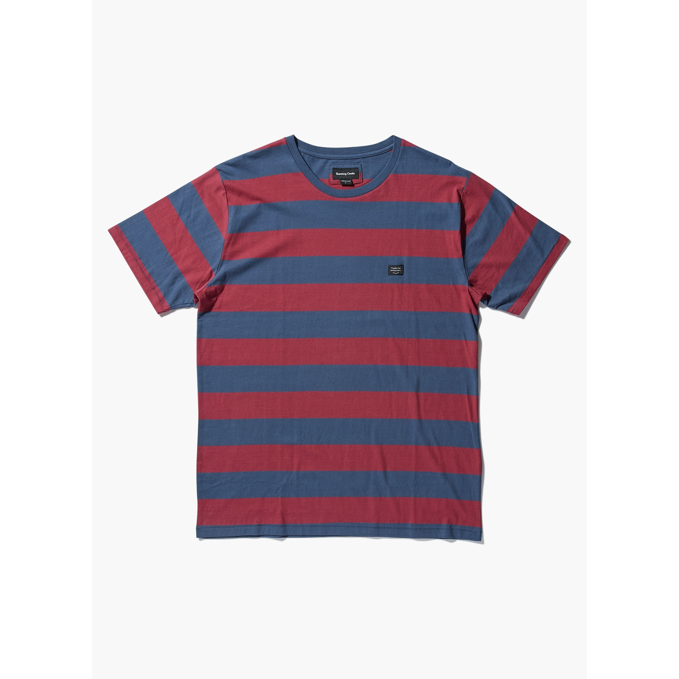 Barney Cools B. Thankful Tee: Red Stripe