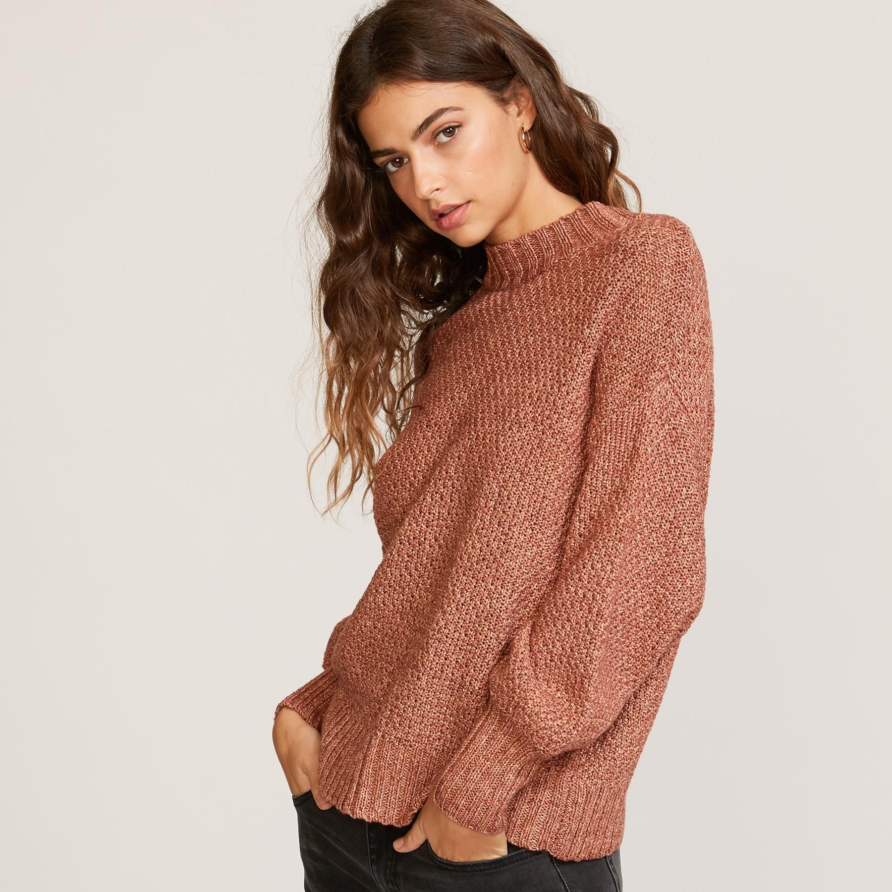 Volt Sweater: Nutmeg