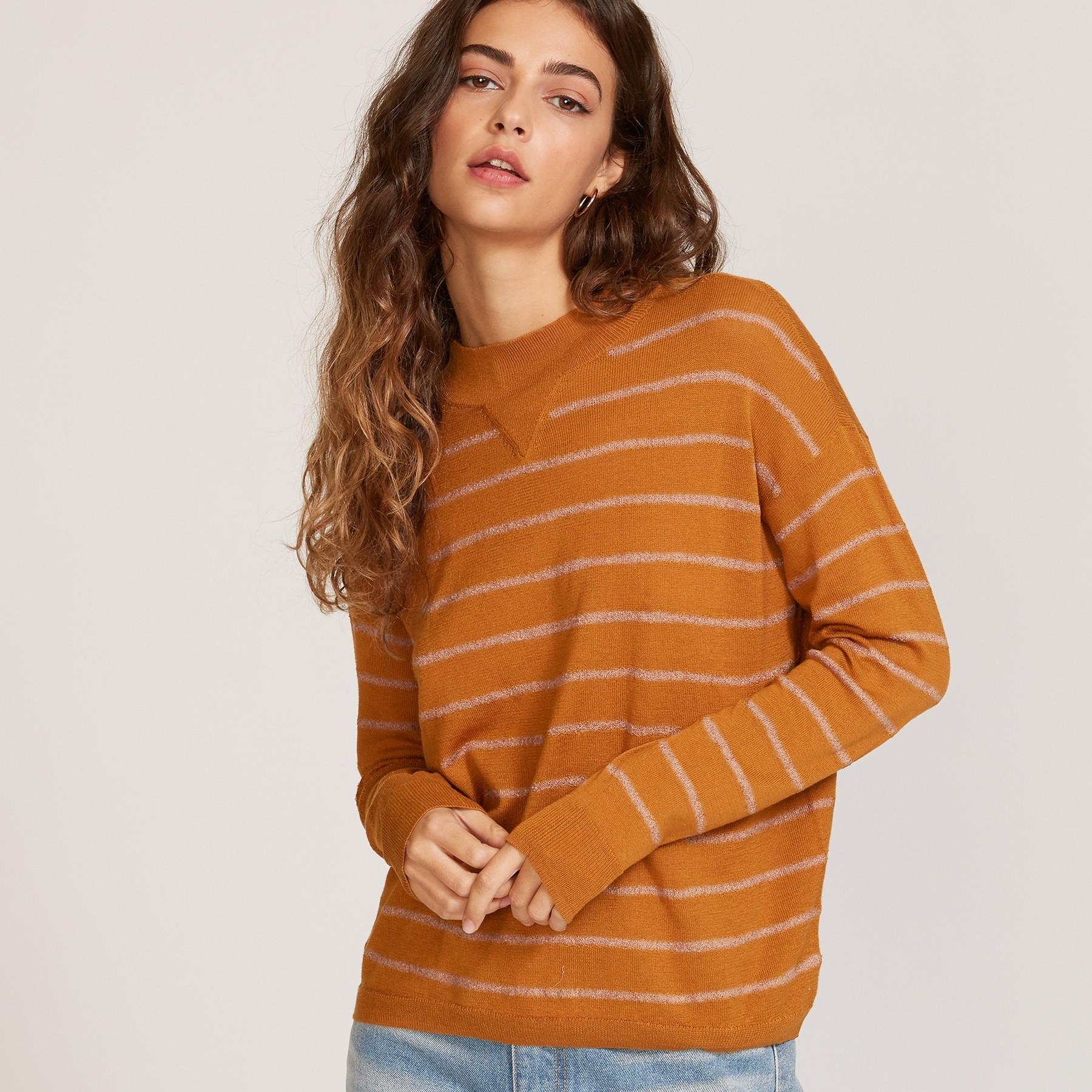 Tristan Sweater: Cathay Spice