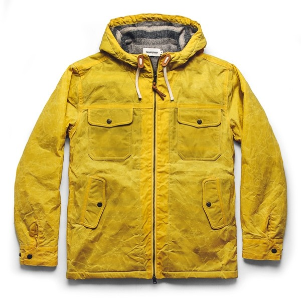 Winslow Parka : Mustard Wax Canvas