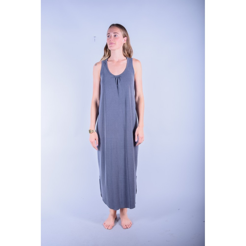 Knot Sisters Delancy Dress: Charcoal