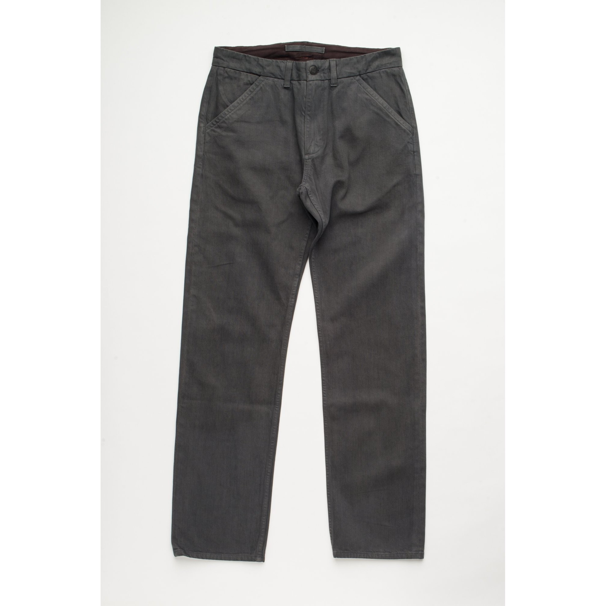 Workers Classic Fit Chino: Charcoal