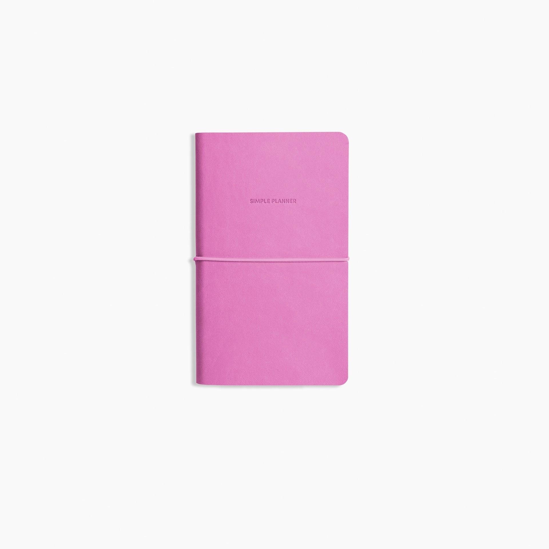 Simple Planner: Fuchsia
