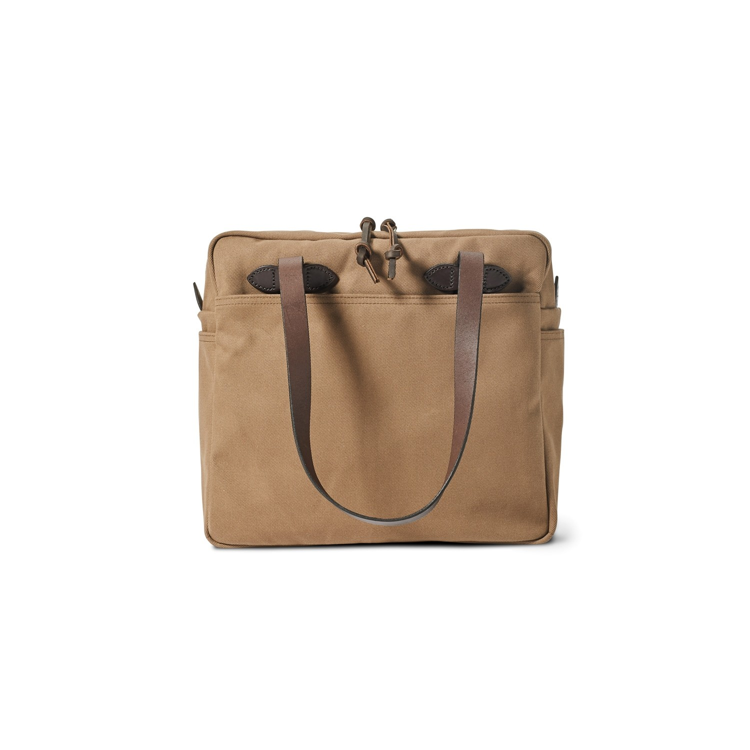 Tote Bag W/Zipper: Sepia