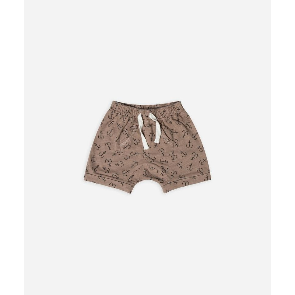 Rylee and Cru Anchor Front Pouch Shorts