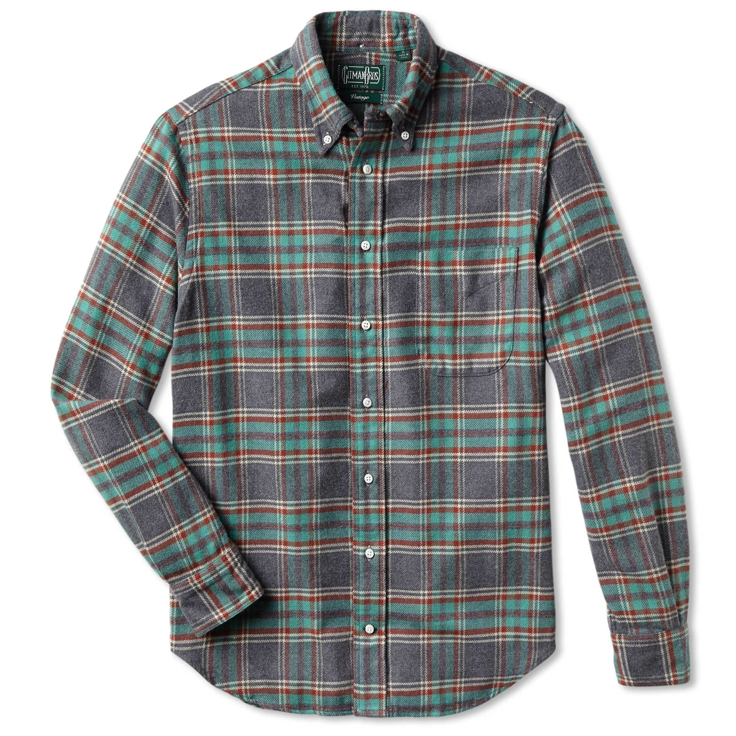 Soft Green Flannel