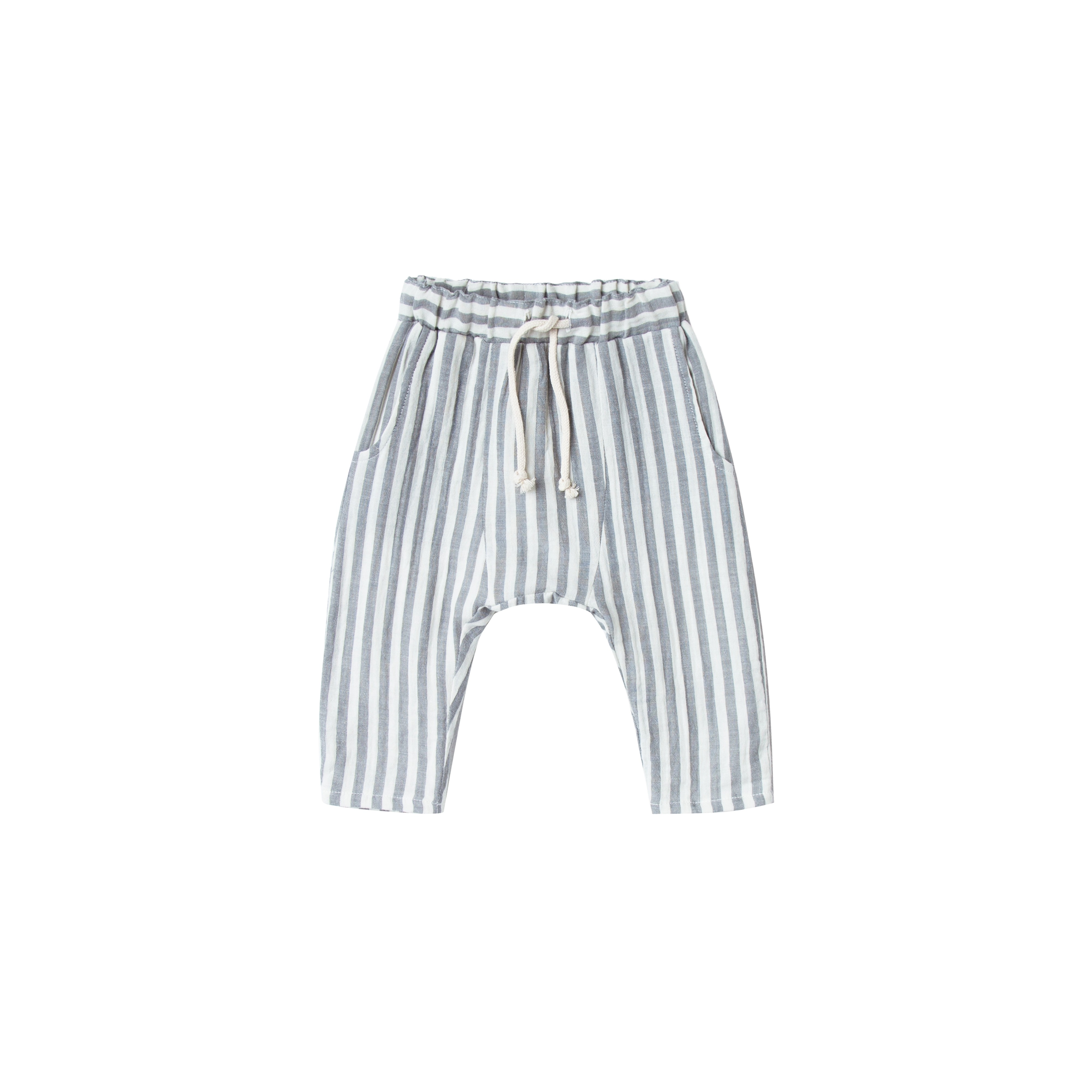 Rylee and Cru Hawthorne Trouser: Storm Stripe