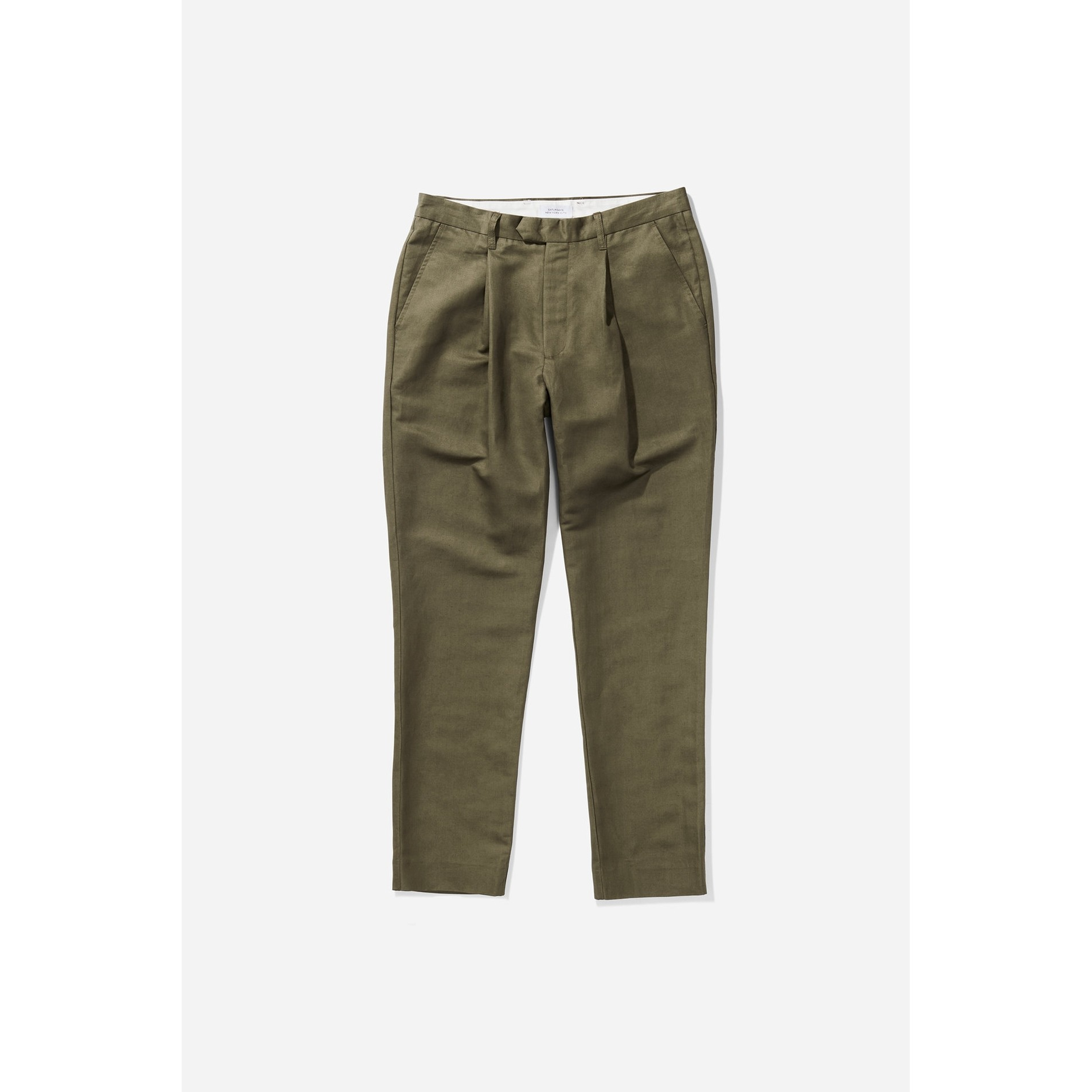 Saturdays NYC Gordy Pant: Olive