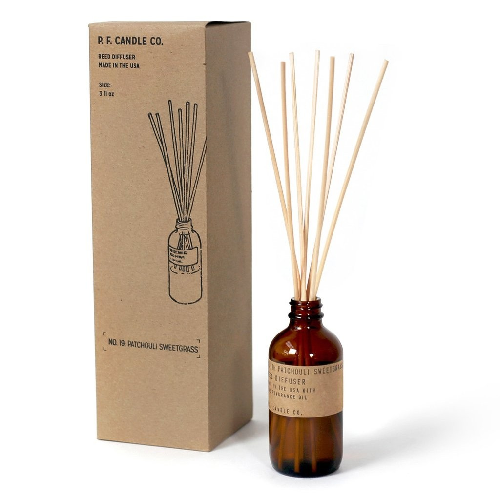 PF Candle Co Patchouli and Sweetgrass Diffuser