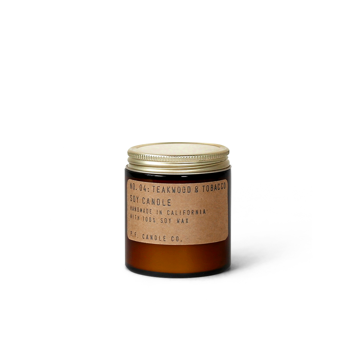 PF Candle Co Teakwood and Toabcco 3.5 oz
