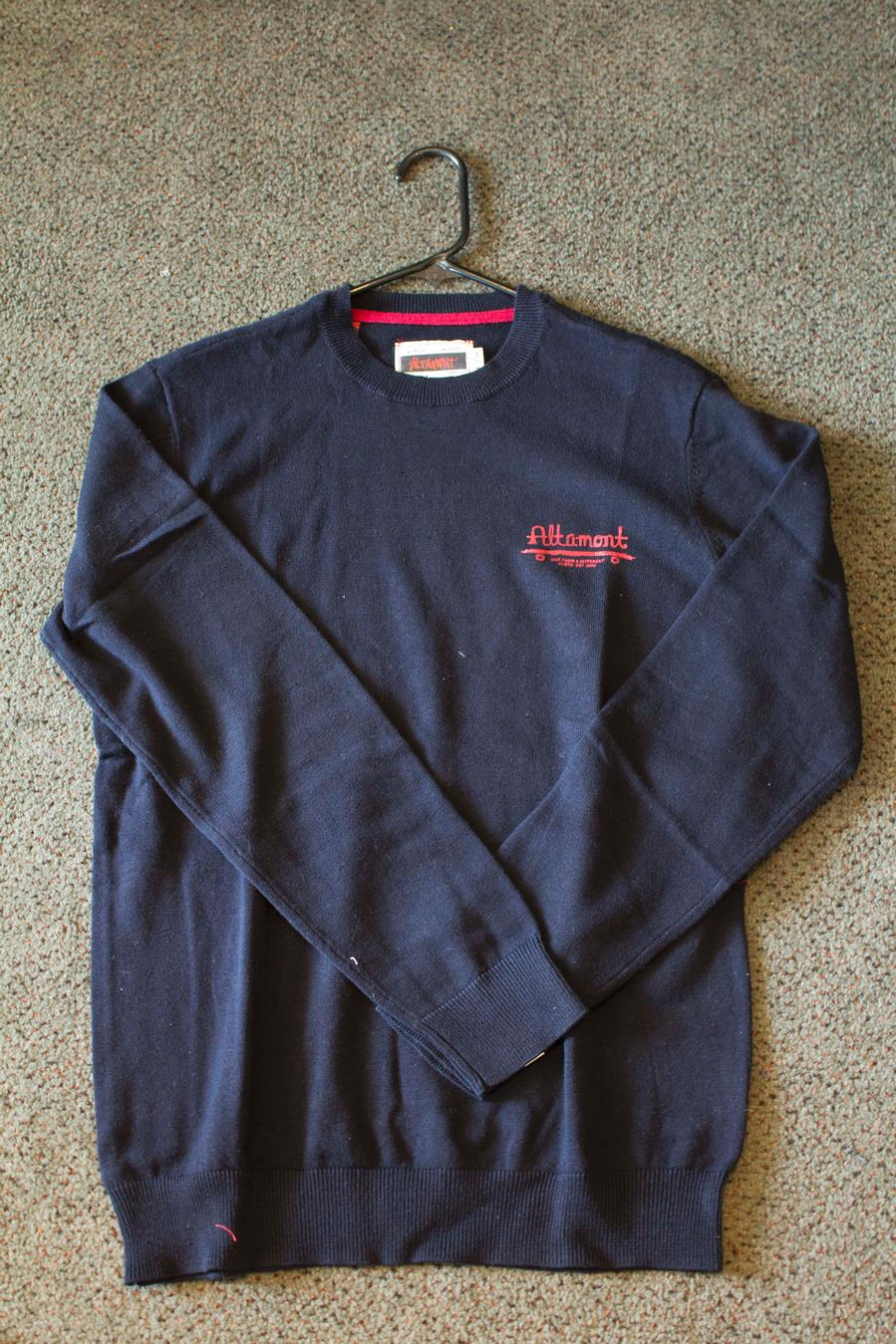 Century Crew Sweater (Navy)
