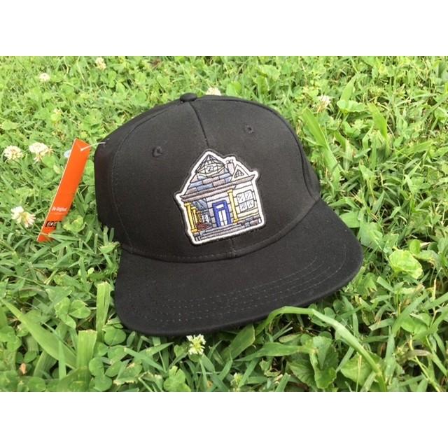 Home Skateshop House Logo (Black/Black)
