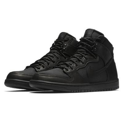 Nike SB Dunk High Pro Bota (Black/Black/Anthracite)