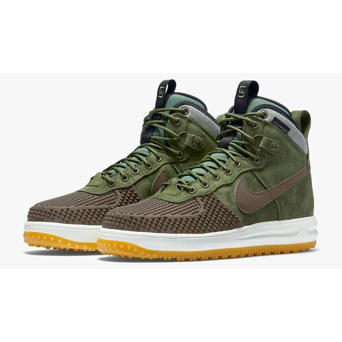 NIKE Lunar Force 1 Duckboot (Baroque Brown/Army Olive)