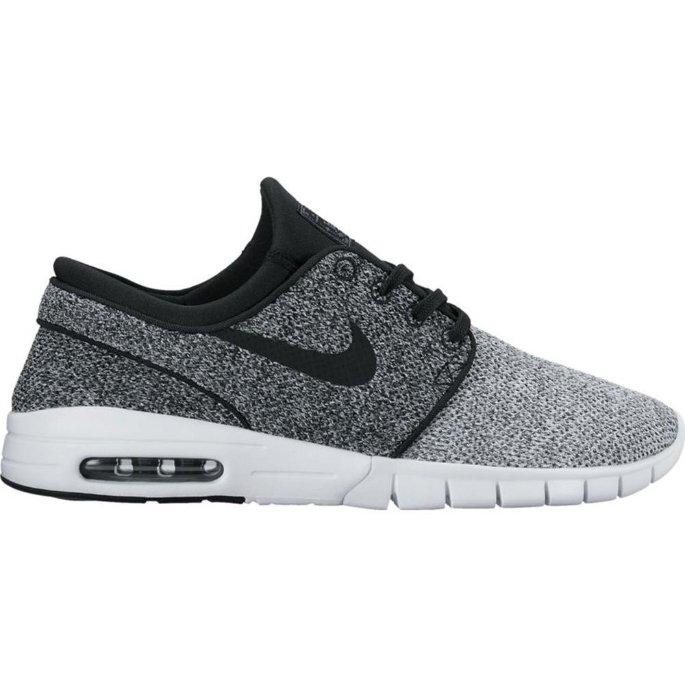 Nike SB Stefan Janoski Max (White/Black-Dark Grey)
