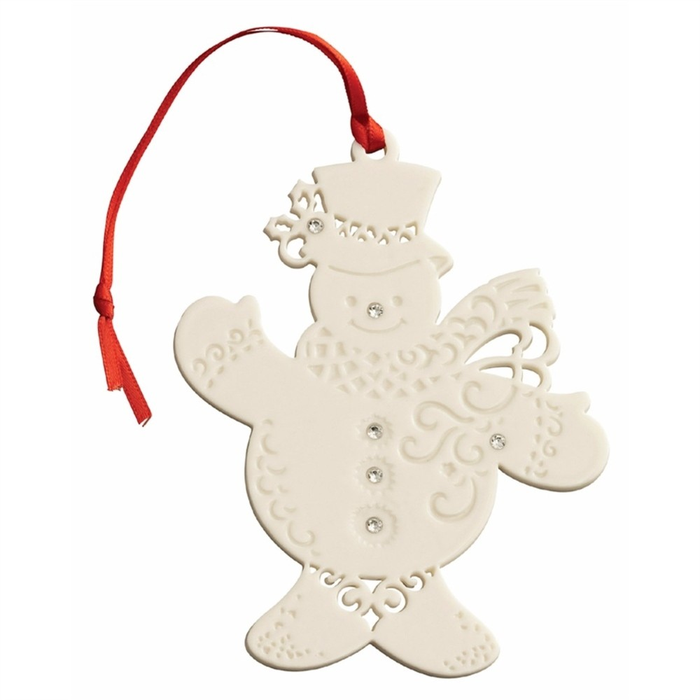 Snowman with Gems Ornament