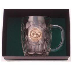Irish Brass Claddagh Tankard