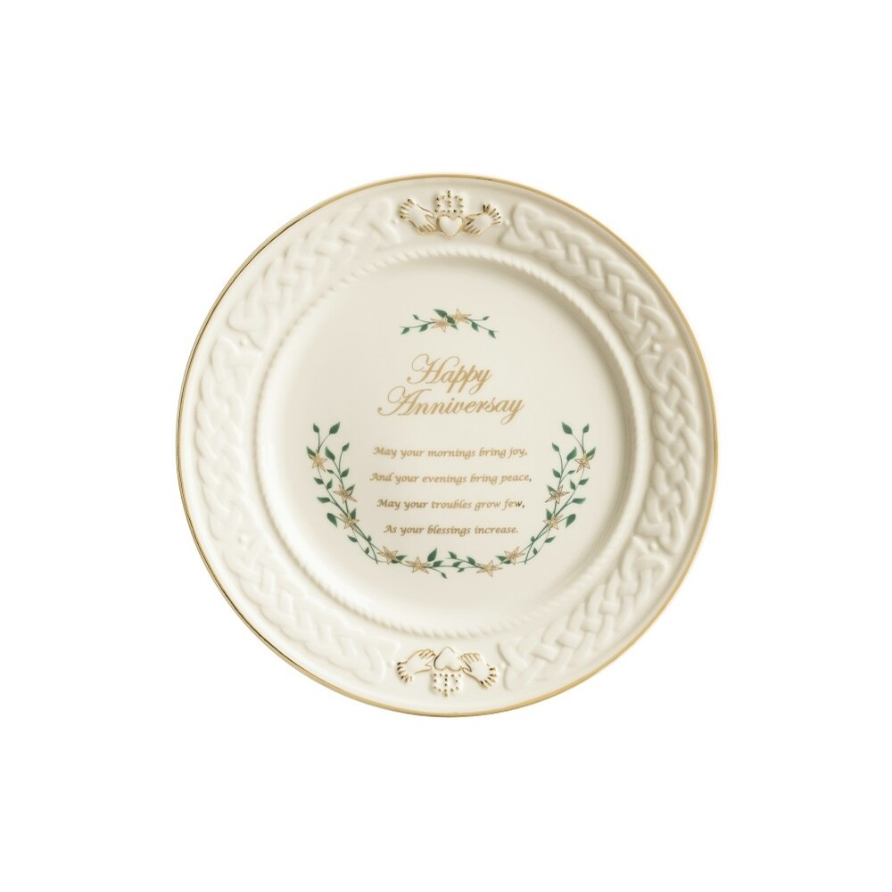 Claddagh Anniversary Plate
