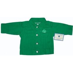 Creative Knit Wear Childrens Jacket Shamrock