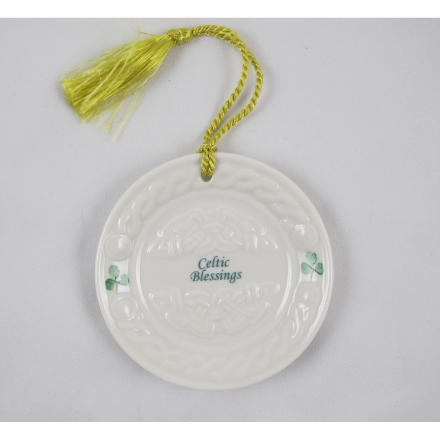 Celtic Blessing Ornament