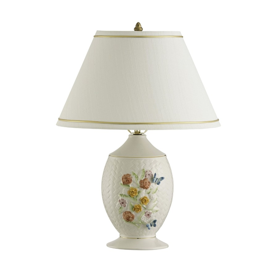 Belleek Wickerweave Lamp