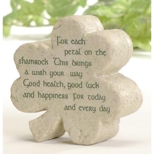 Shamrock Lucky Stone