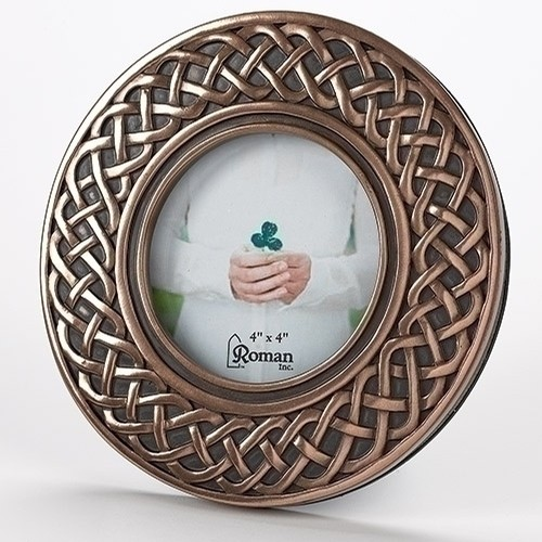 Irish Celtic Circle Frame 4x4