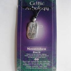 Amethyst Dublin November Astrology Choker