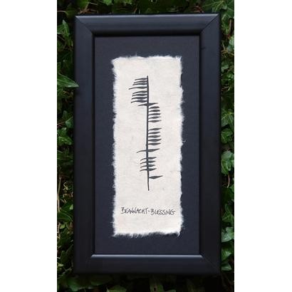 Ogham Wishes Ogham Beannacht Blessing