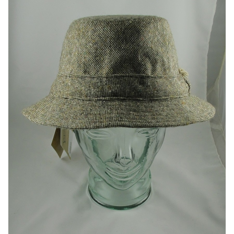 Hanna Hats Tan Tweed Walking Hat Clothing Caps Hats At