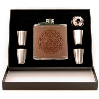 Irish Flask Set