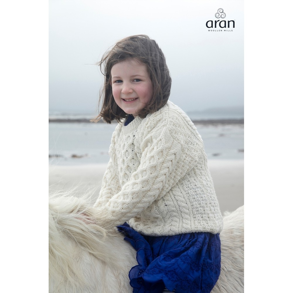 Childs Aran Sweater