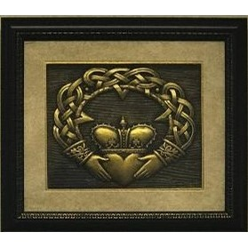 Claddagh Framed Celtic Art