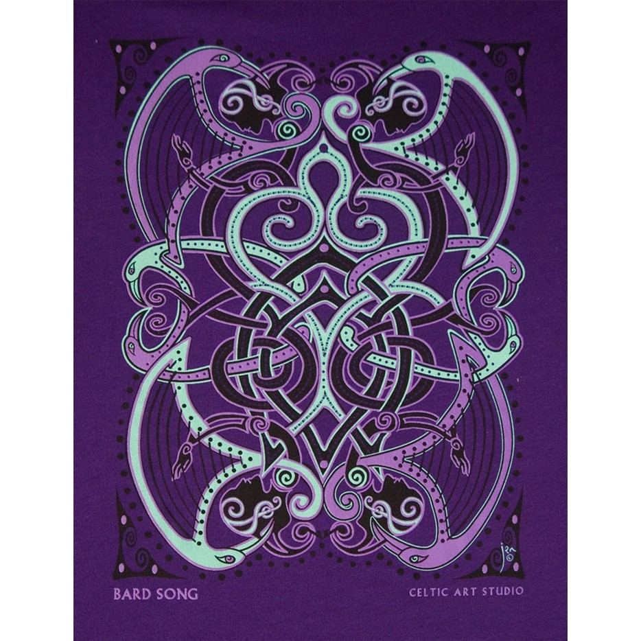 Bard Song Celtic Tee Shirt