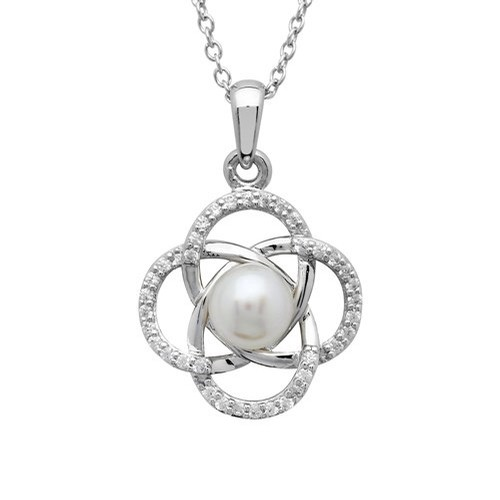 Celtic Pearl Pendant