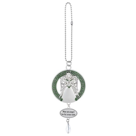 Irish Celtic Car Charm (Angel)