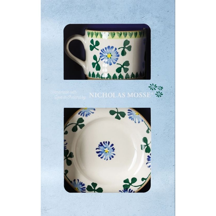 Clover Cup and Saucer