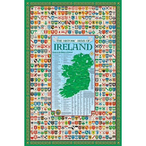 Irish Family History Poster