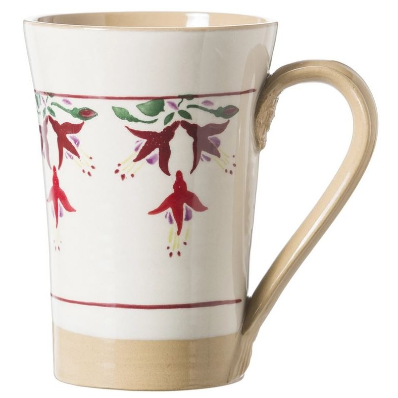 Tall Fuschia Mug