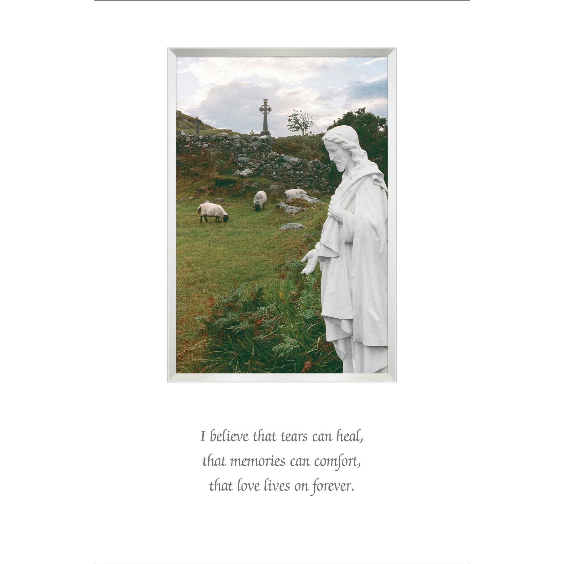 Irish Sympathy Blessing Framed
