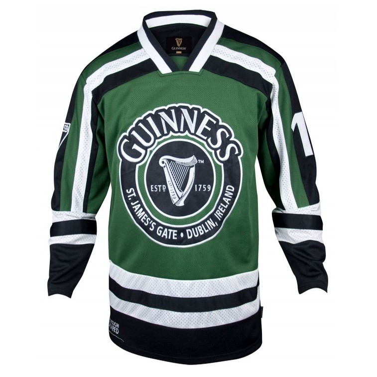 James Trading Group Guinness Hockey Jersey