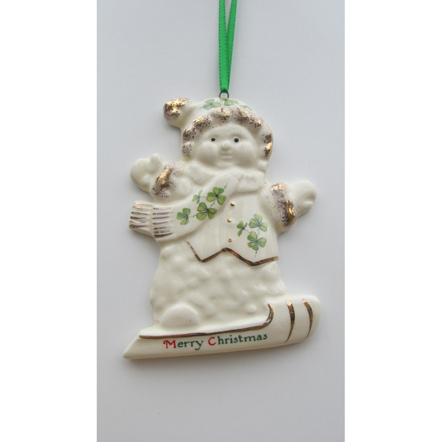 CBE Irish Skiing Ornament