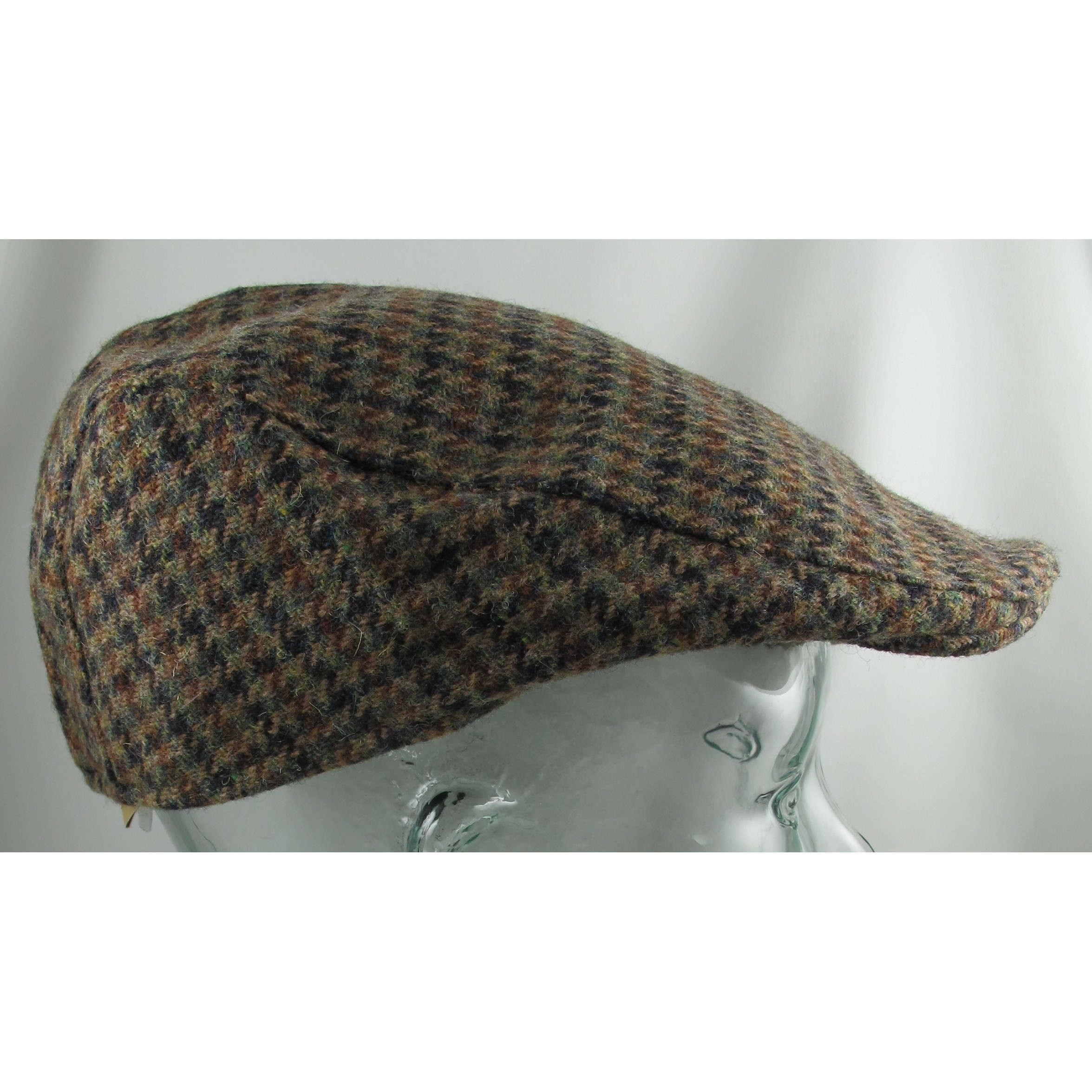 Brown Check Touring Cap