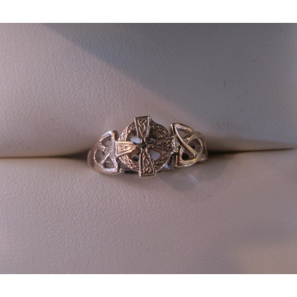 Celtic Cross Ring Gold