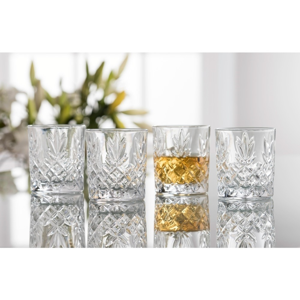 Irish Crystal Whiskey Glass Set set of 4