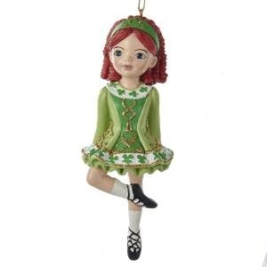 Kurt Adler Irish Dancer Ornament